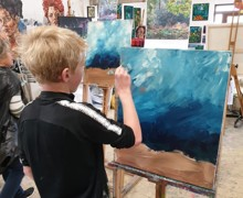 Child painting 3