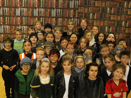 Library school play photo for library blog of 8120