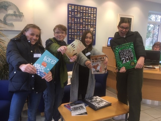 World book day library blog photo