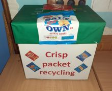 Crisp Packet Recycling 2