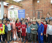 Y3 with ex pupil anne marie piazza