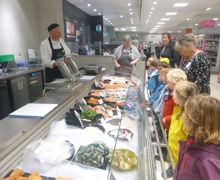 Reception Class trip to Waitrose
