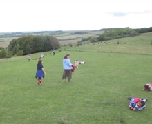 Danebury down the hill 1